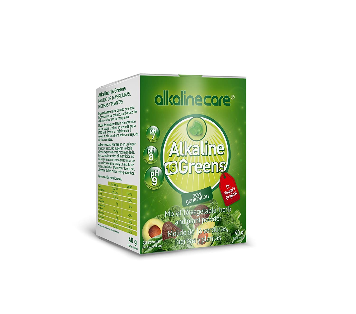 Amazon.com: Alkaline 16 Super Greens Powder, Green Juice by ALKALINE CARE: Health & Personal Care