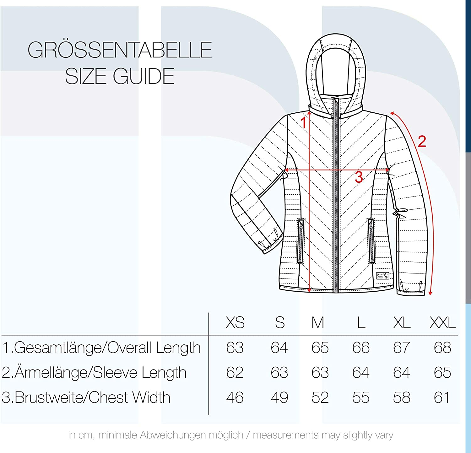 BlendShe Sienna Womens Quilted Jacket Padded Jacket Puffer Jacket with Hood