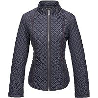 Bellivera Womens Lightweight Quilted Spring Zip Jacket