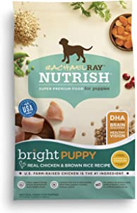 Rachael Ray Nutrish Bright Puppy Chicken & Brown Rice Dry Dog Food