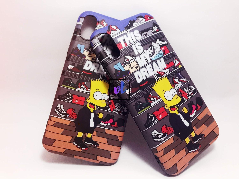 VidALibre Funda iPhone XR, iPhone XS (Impresa por Simpsons ...