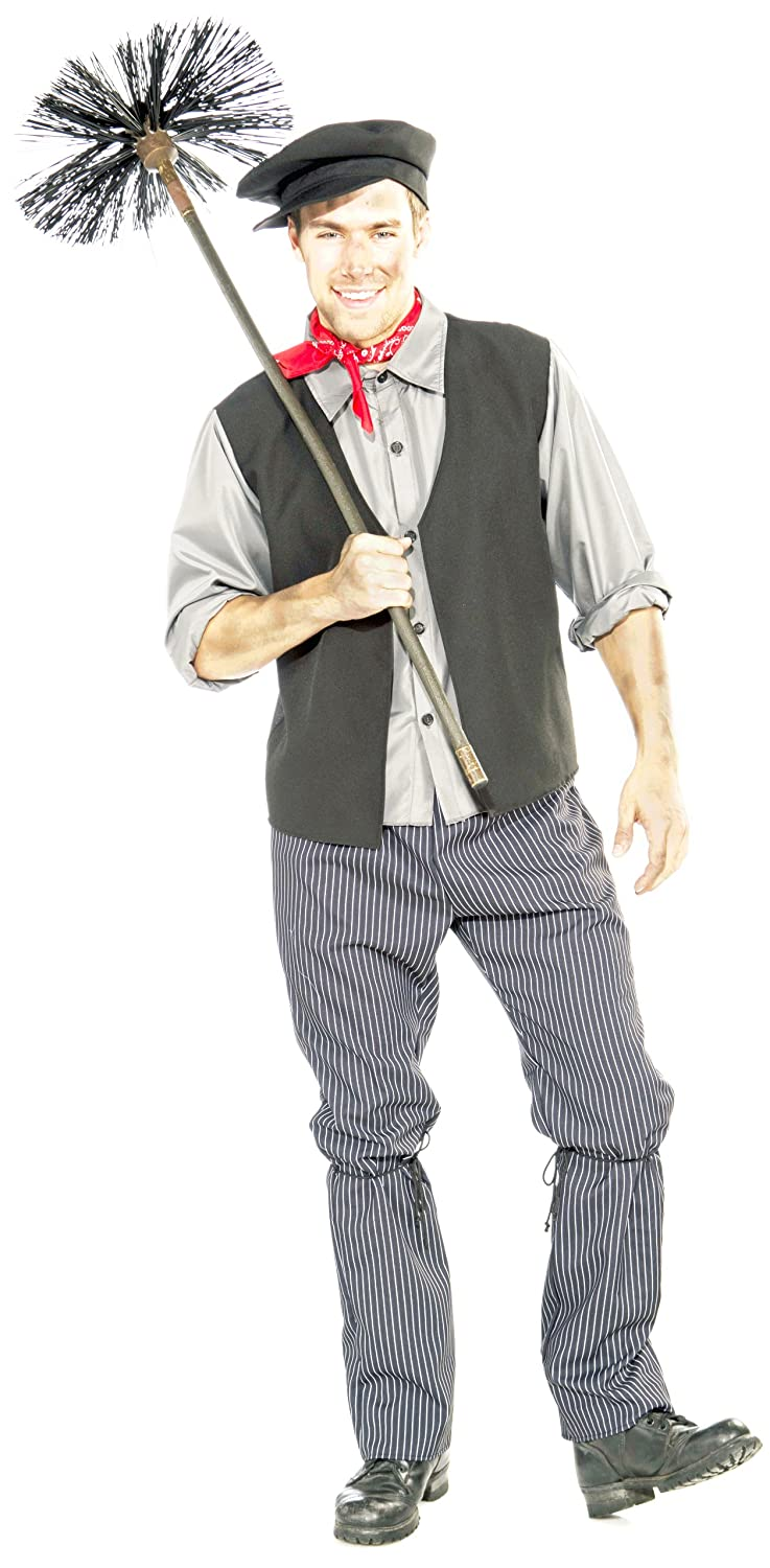 Men's 1900s Costumes: Indiana Jones, WW1 Pilot, Safari Costumes Mens Chimney Sweep Costume  AT vintagedancer.com