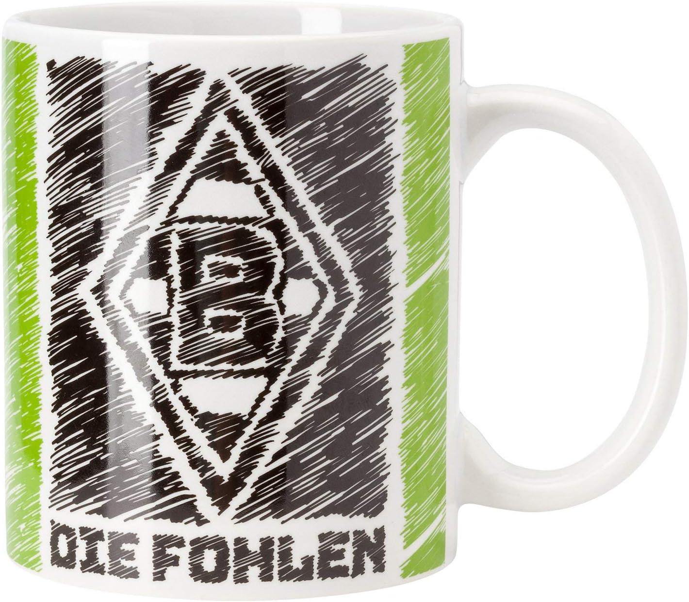 Borussia Mönchengladbach Scribble - Taza