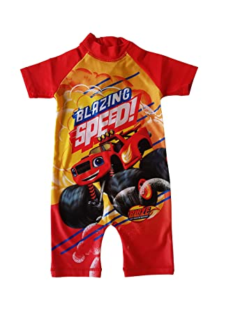 bff4732b17 Blaze and The Monster Machines Sun Protection UV Protection Swim Suit  Sunsafe 18-24 Months