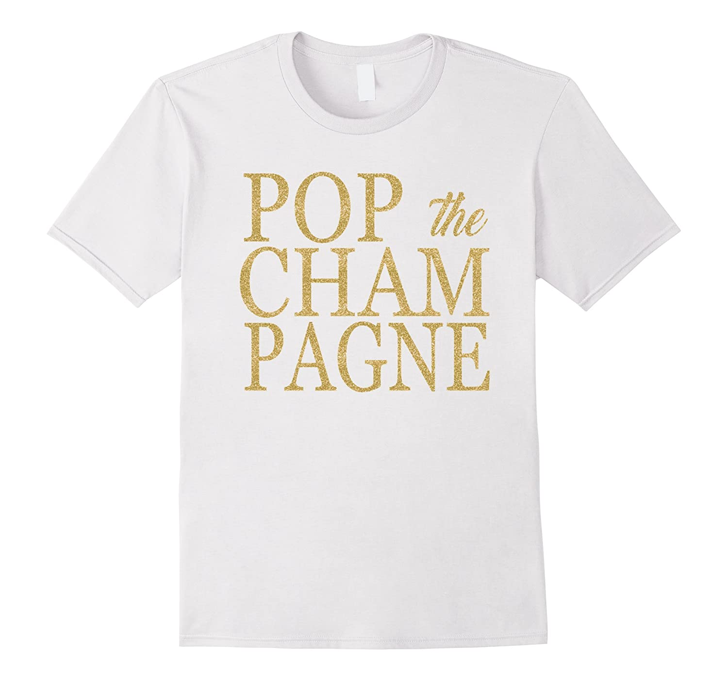 Pop the Champagne T-Shirt Engagement Bridal Shirt-CD