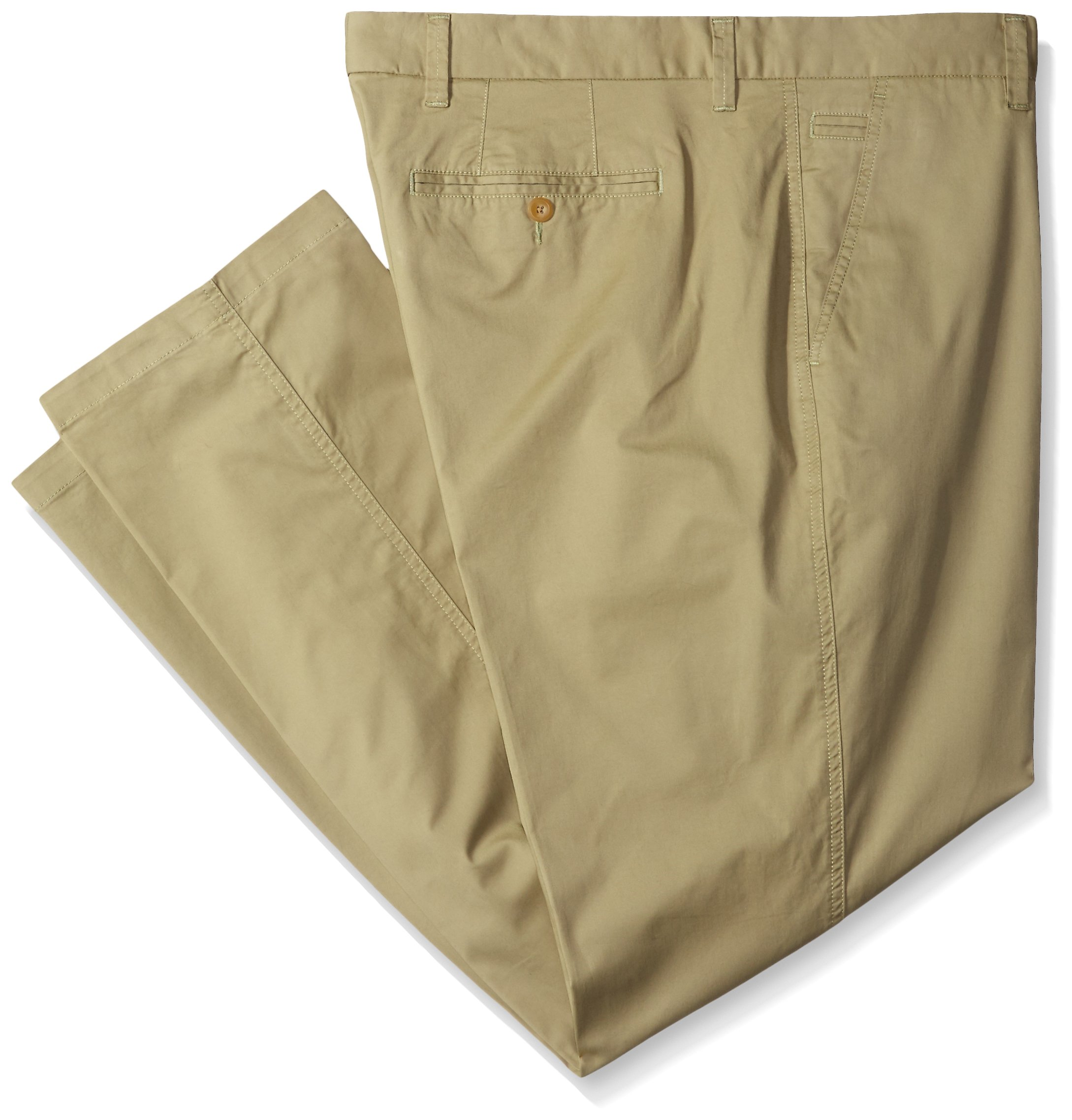 Cutter & Buck Men's Big and Tall Bishop Pant, Pine, 46x34