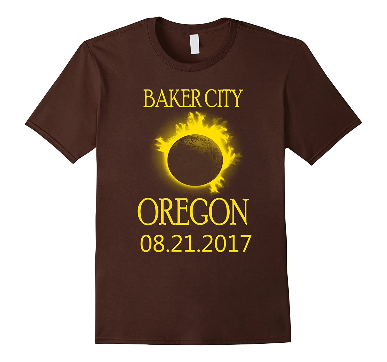 Baker City Oregon OR Total Solar Eclipse August Tee