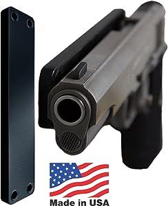 Gun Magnet   Gun Mount Holster   Magnetic Gun Mount   Concealed Carry Holster for Car, Truck, Home, Office, Handgun, Pistol, Shotgun, Rifle
