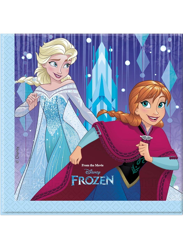 20 Servilletas * Frozen Copo de nieve * DE Disney para ...