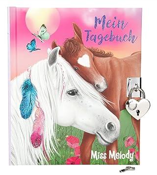 Depesche 1935 Diario Miss Melody Con Pegatinas Amazones Juguetes