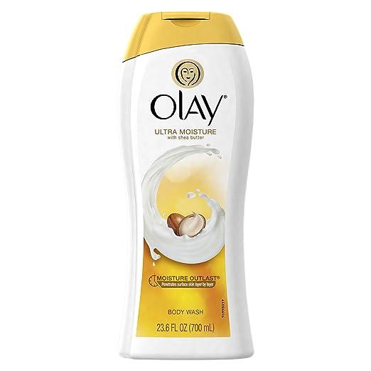 Olay Ultra Moisture Moisturizing Body Wash with Shea Butter 23.6 Oz