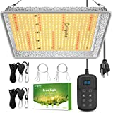 Briignite BRS 1000W LED Grow Lights, Grow Lights for Indoor Plants, Full Spectrum Grow Light with 368pcs LED, 3x3ft Coverage,