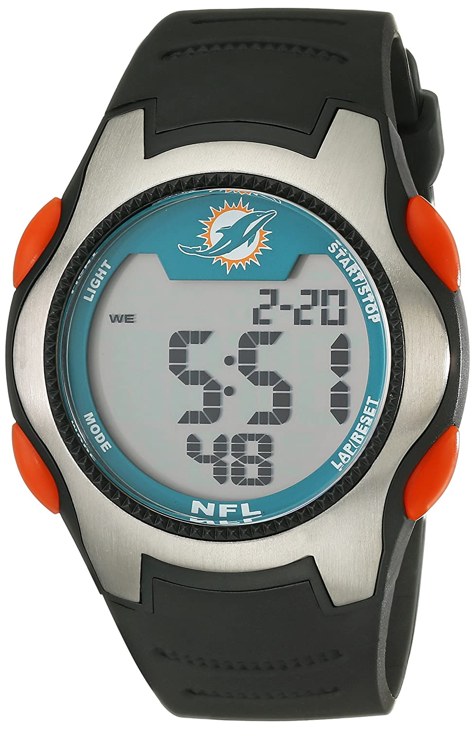 Game Time Men's NFL-TRC-MIA Miami Dolphins Watch