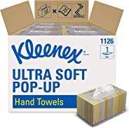 Kleenex Hand Towels (11268), Ultra Soft and Absorbent, Pop-Up Box, 18 Boxes / Case, 70 Paper Hand Towels / Box, 1,260 Sheets