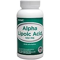 GNC Alpha Lipoic Acid 100 mg, 120 cápsulas