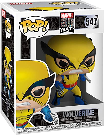 Funko Pop Bobble Marvel: 80th-First Appearance Wolverine Figura Coleccionable, Multicolor (44155): Amazon.es: Juguetes y juegos