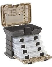 Plano Molding 1354 Stow N Go caja de herramientas con 4 unidades de la serie 23500, gris grafito y arenisca