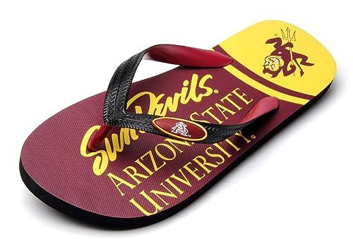 03cdb7cdc37ac Amazon.com   NCAA Arizona State Sun Devils Spirit Flip Flops (Maroon ...