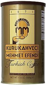 Kurukahveci Mehmet Efendi Turkish Coffee, 17.6 oz