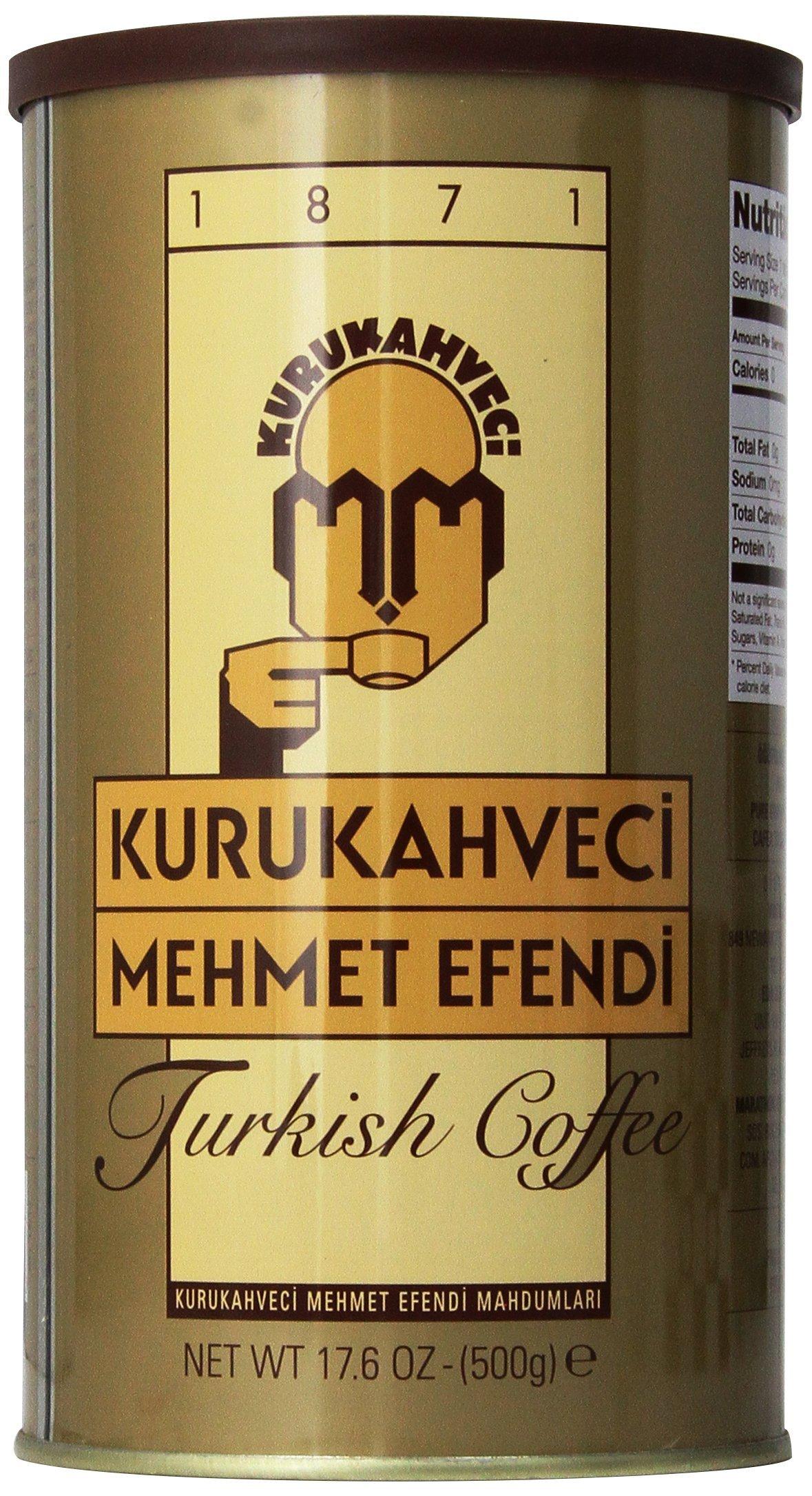 Kurukahveci Mehmet Efendi Turkish Coffee,17.6 Ounce