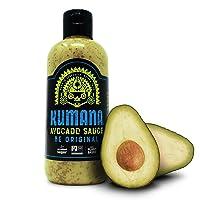 Kumana Avocado Sauce, Original Jalapeño. A Keto Friendly Hot Sauce made with Ripe...