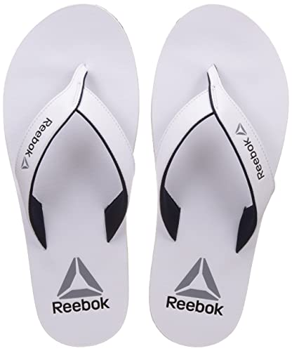 4ff89753aa0f68 Reebok Men s Advent White Navy Metsil Wht House Slippers - 6 UK ...