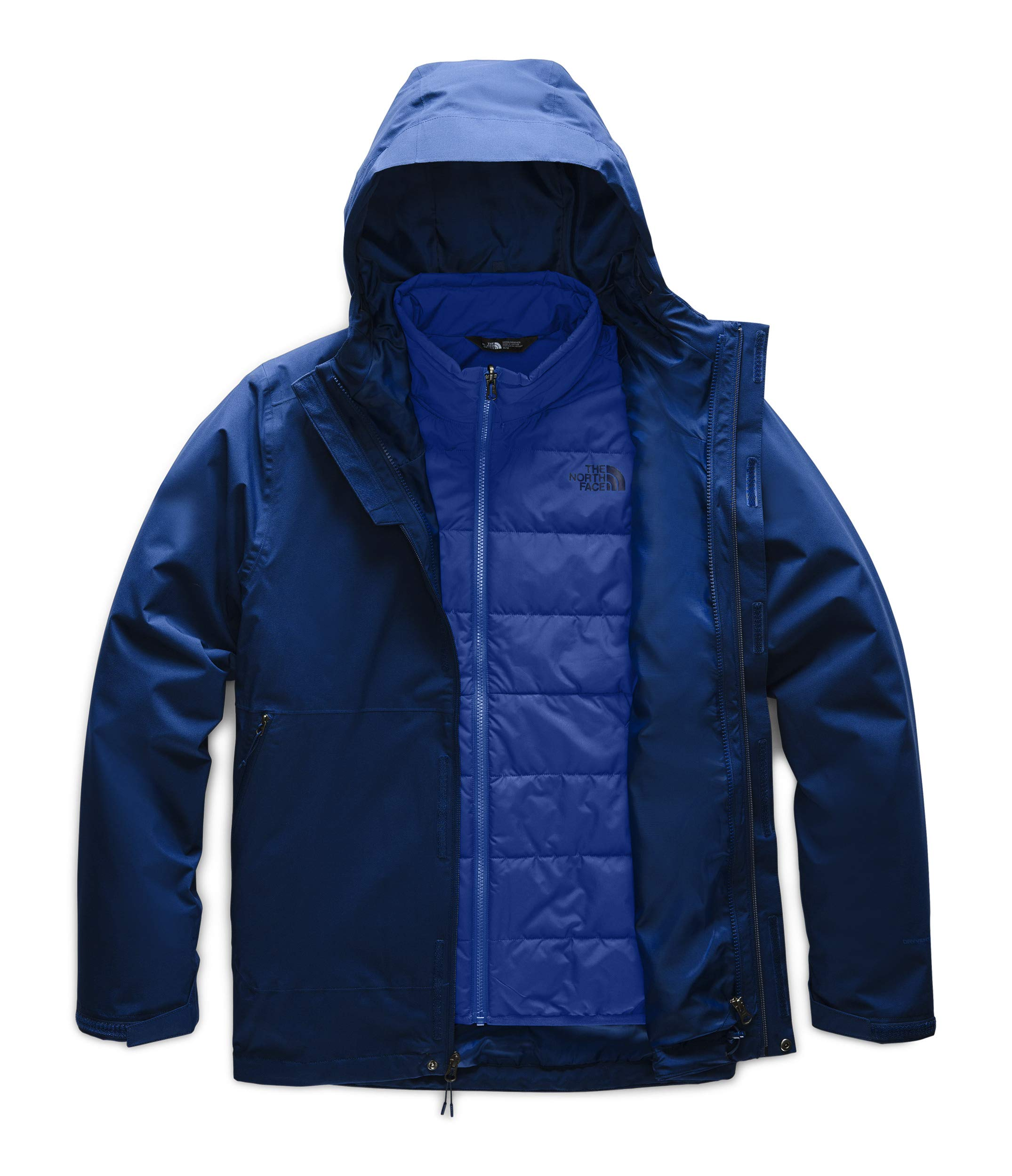The North Face Men's Carto Triclimate Jacket, Flag Blue/TNF Blue, XL by The North Face