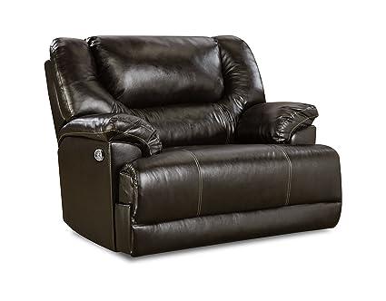 Simmons Upholstery 50451pbr 195 Bingo Brown Bingo Power Cuddler Recliner Brown