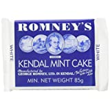 Romney's Kendal Mint Cake 85 g (Pack of 8)