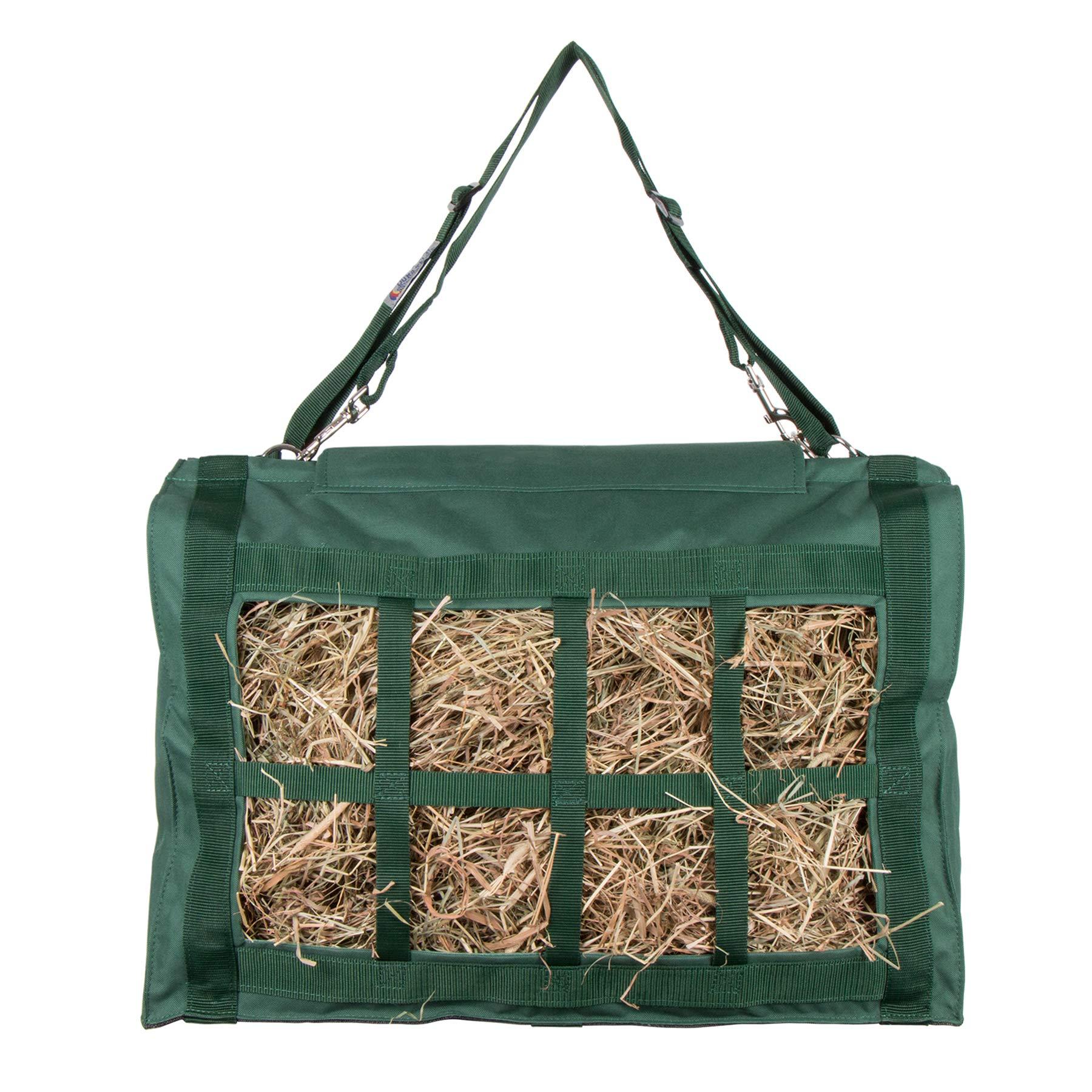 Dura-Tech XL Reinforced Top Hay Saver Bag (Green)