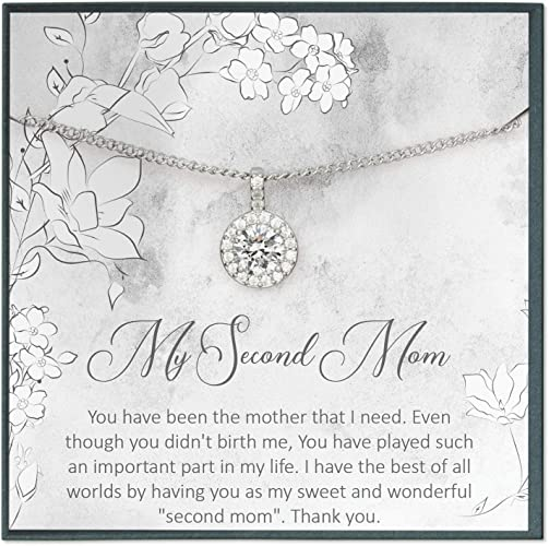 Grace of Pearl Mother Daughter Necklace for Mom Gifts for Mom Necklace Gifts for Mother Jewelry Mom Jewelry for Mum Gifts from Daughter to Mom