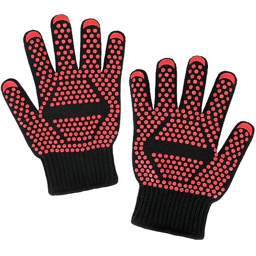 57 opinioni per Guanti da forno Danibos calore qualità guanti guanti resistenti guanti da forno