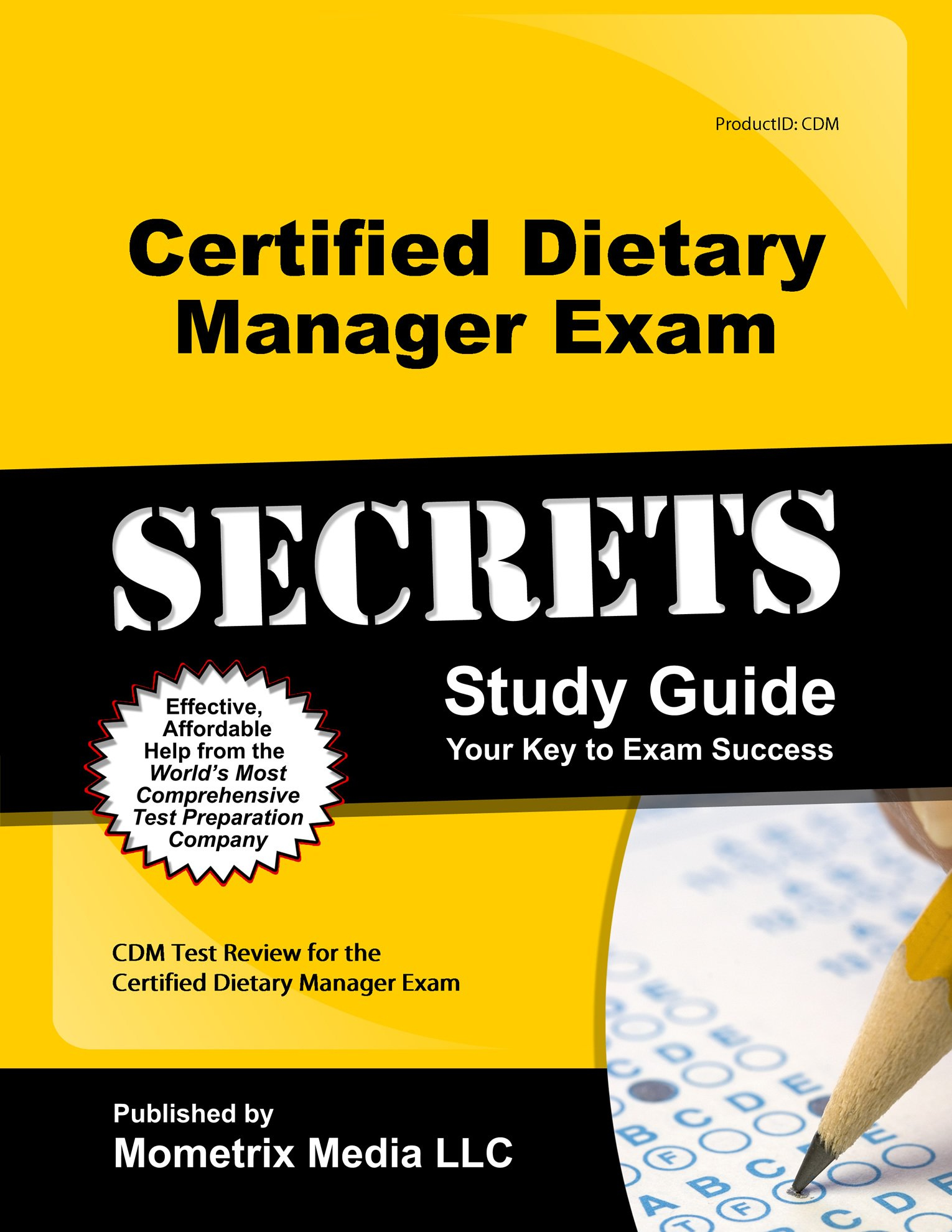 Amazon Buy Certified Dietary Manager Exam Secrets Study Guide