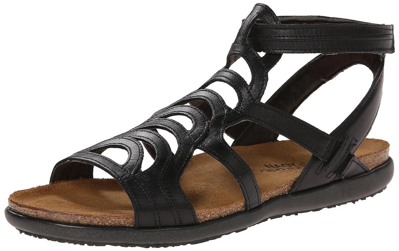 NAOT Women's Sara Gladiator Sandal B00LT31S3A 40 M EU / 9 B(M) US Black