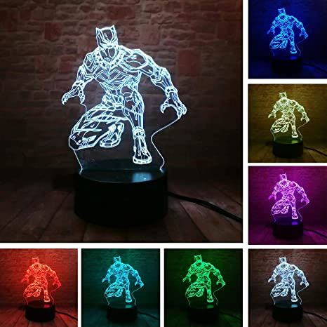 Lights & Lighting Led Lamps Cheap Price Cool Transformers 3d Night Light Baby Bedroom Sleeping Lamp 7 Color Changing 3d Iron Man Atmosphere Led Desk Table Lamp Boy Gift