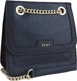 9067c3b987 DKNY Small Saffiano Leather Shoulder Cross Body Camera Bag in Black ...