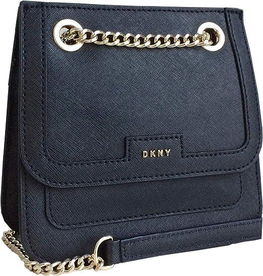 DKNY Mini Saffiano Leather Crossbody Bag  Amazon.co.uk  Clothing bf3b80207ffe6