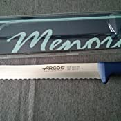 Compra Arcos 145723 - Cuchillo panero, 200 mm en Amazon.es