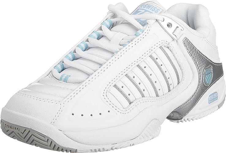K-Swiss DEFIER RS - Zapatillas De Tenis de cuero mujer: Amazon ...