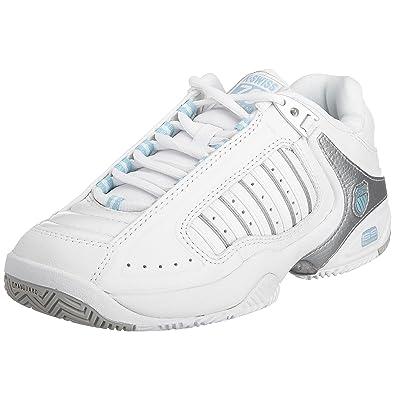 promo code c531f a2eb5 K-Swiss Performance Women s KS TFW BIGSHOT LIGHT 3 Tennis Shoes, White (Wht