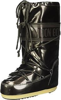 Moon-boot Vinile Met, Bottes de Neige Femme, Noir (Nero 001), 45/47 EU