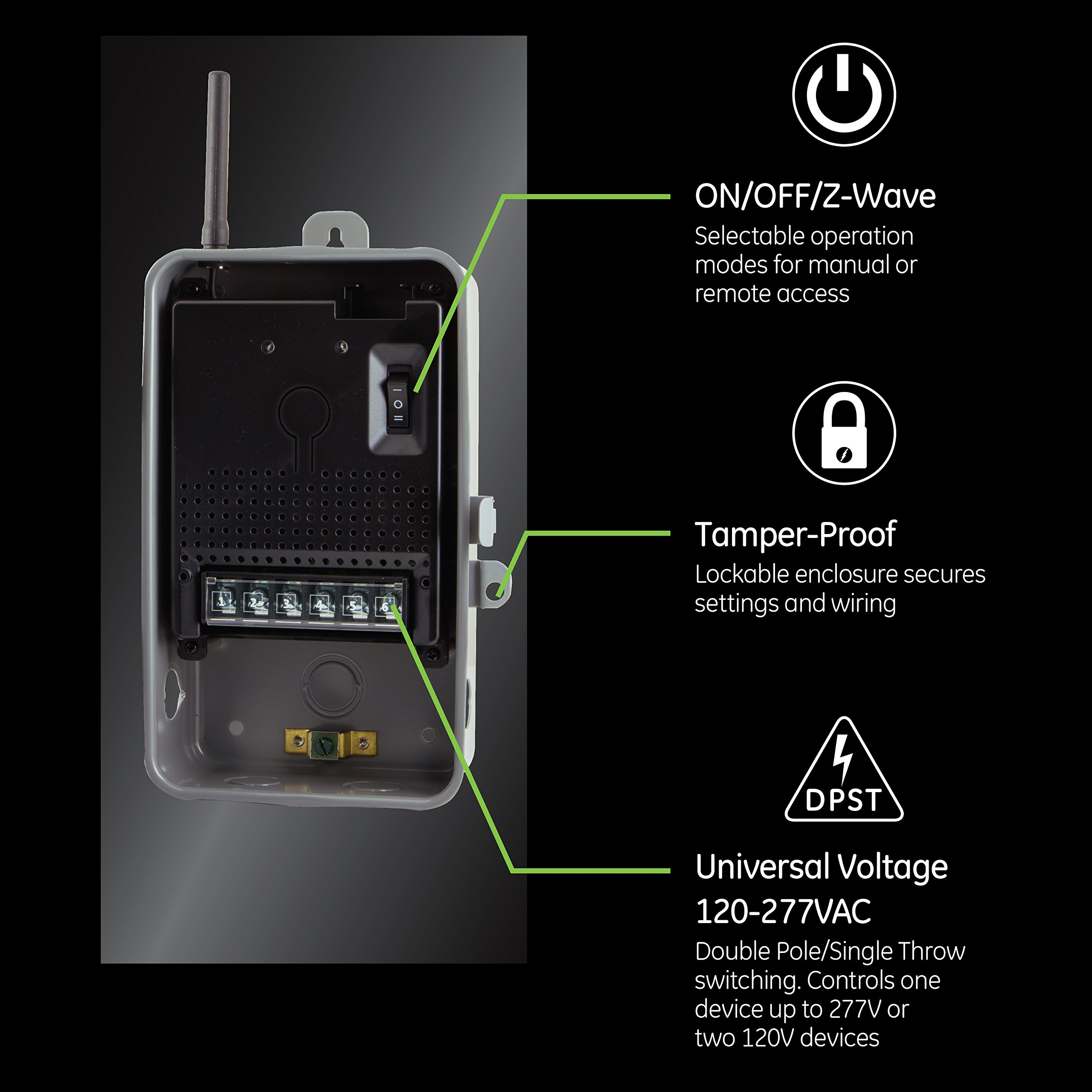 Ge Zwave Plus Direct Wire 40 Smart Switch Indooroutdoor 120. Ge Zwave Plus Direct Wire 40 Smart Switch Indooroutdoor 120277v Lighting Appliance Control Repeaterrange Extender Hub Requiredworks With. Smart. Ge Smart Switch Wiring At Scoala.co