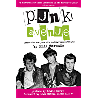 Punk Avenue: Inside the New York City Underground, 1972-1982 book cover