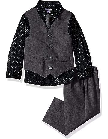 859b652895 Van Heusen Baby Boys  4-Piece Patterned Dresswear Vest Set