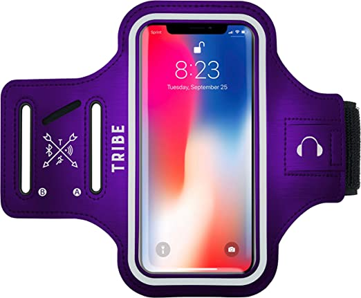 Amazon Com Tribe Water Resistant Cell Phone Armband Case For Iphone 11 11 Pro 11 Pro Max X Xs Xs Max Xr 8 7 6 Plus Sizes Galaxy S10 S9 S8 S7 Plus