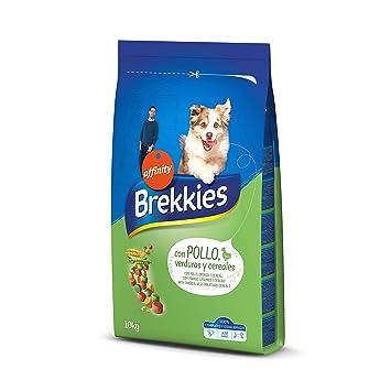 Brekkies Pienso para Perros con Pollo, Legumbres y Verduras ...