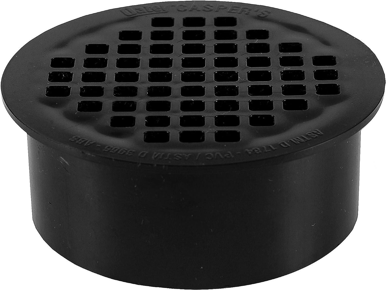 Oatey 43568 Snap-In Floor Drain, 4 In, Solvent Weld, Abs Plastic, 4