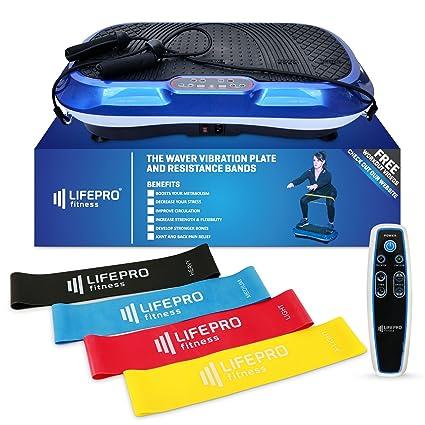 amazon com lifepro vibration plate exercise machine whole body rh amazon com