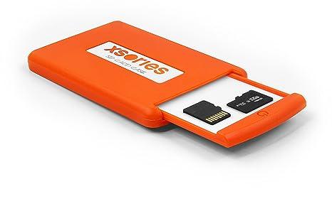 Xsories Caja de Agarre de Memoria para cámara de Fotos ...