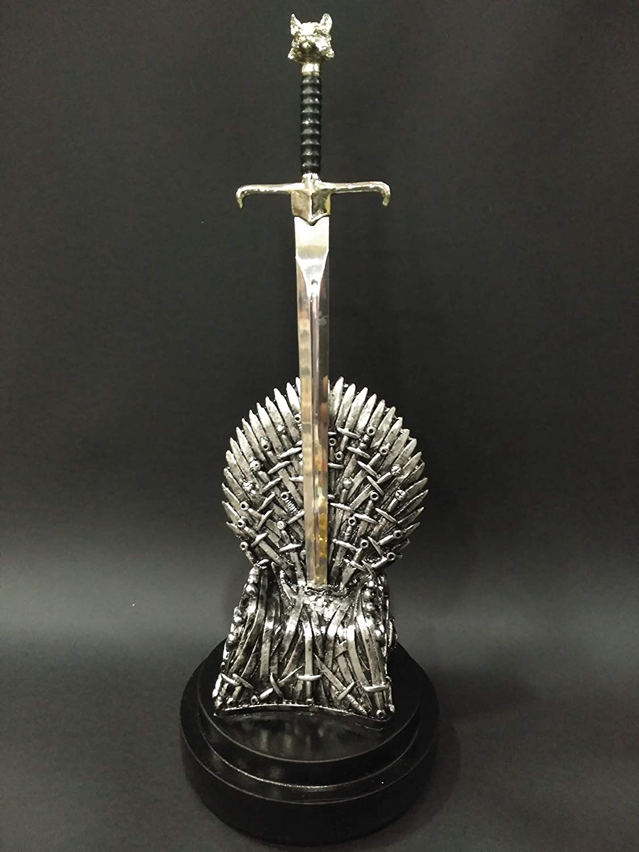 Trono de Hierro de Juego de Tronos - Game of Thrones, Espada Garra, Hecho de Resina, réplica no Oficial
